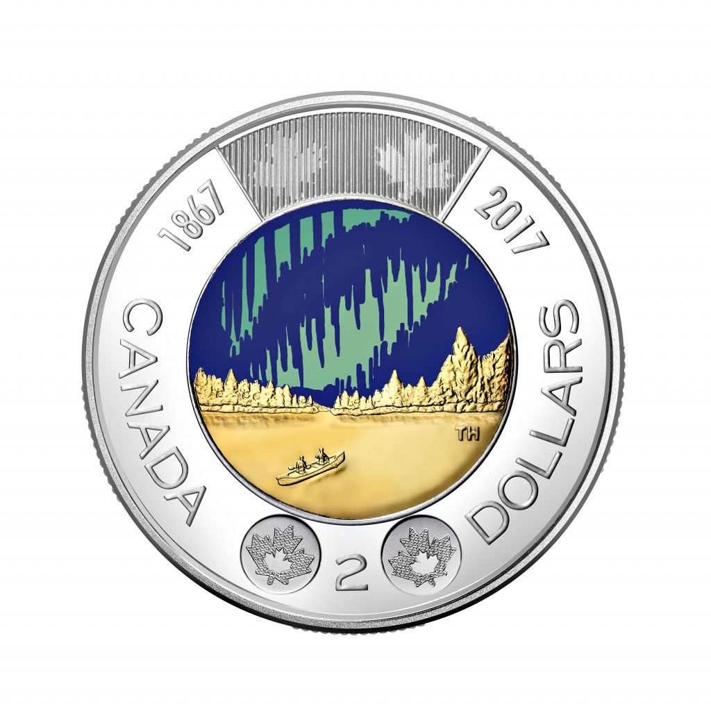 Canada has a new coin that is the first glow-in-the-dark coin in circulation.