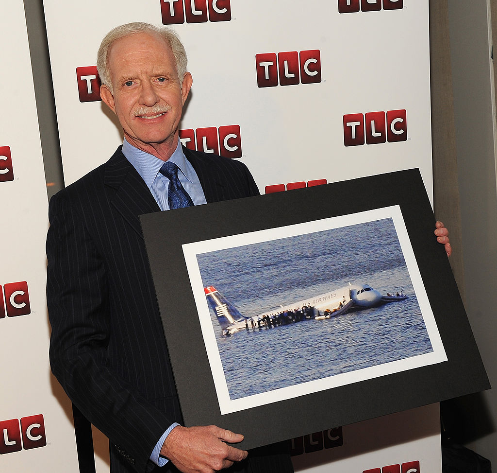 Chesley 'Sully' Sullenberger attends the premiere of 'Brace for Impact' at the Walter Reade Theater.
