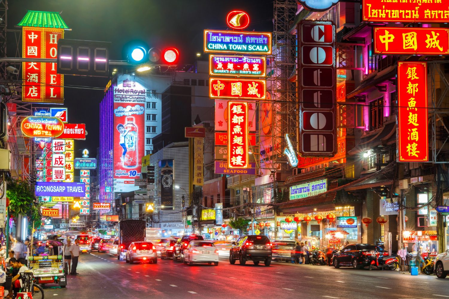 The Chinatown district of Bangkok at dusk. Image: K.Inspiration_06/Shutterstock