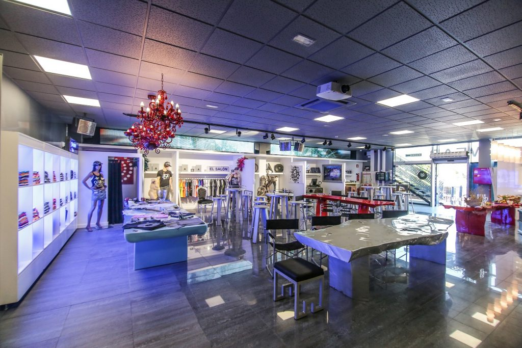 There is now a museum dedicated to Space Ibiza . Image: Space Warehouse