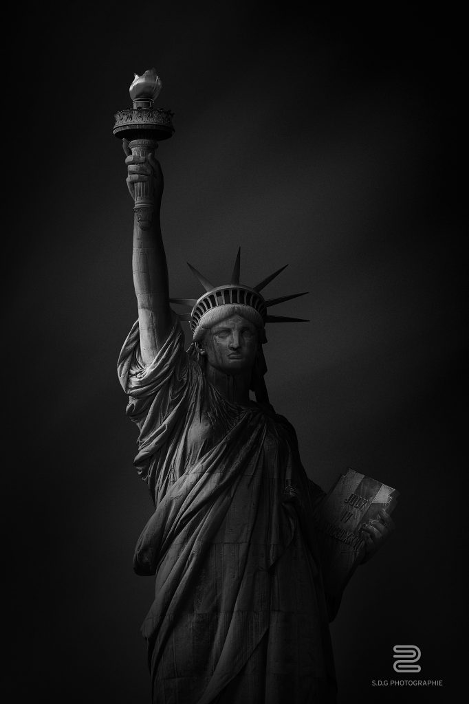The Statue of Liberty as you've never seen it before.