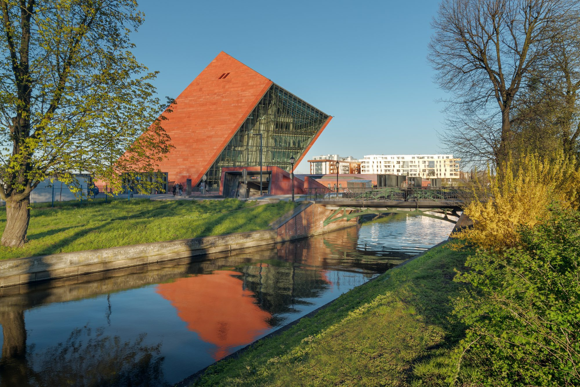 The new Polish war museum in Gdansk.