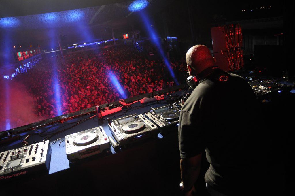Carl Cox plays at Space Ibiza, Spain. Image: Victor Spinelli/Getty Images