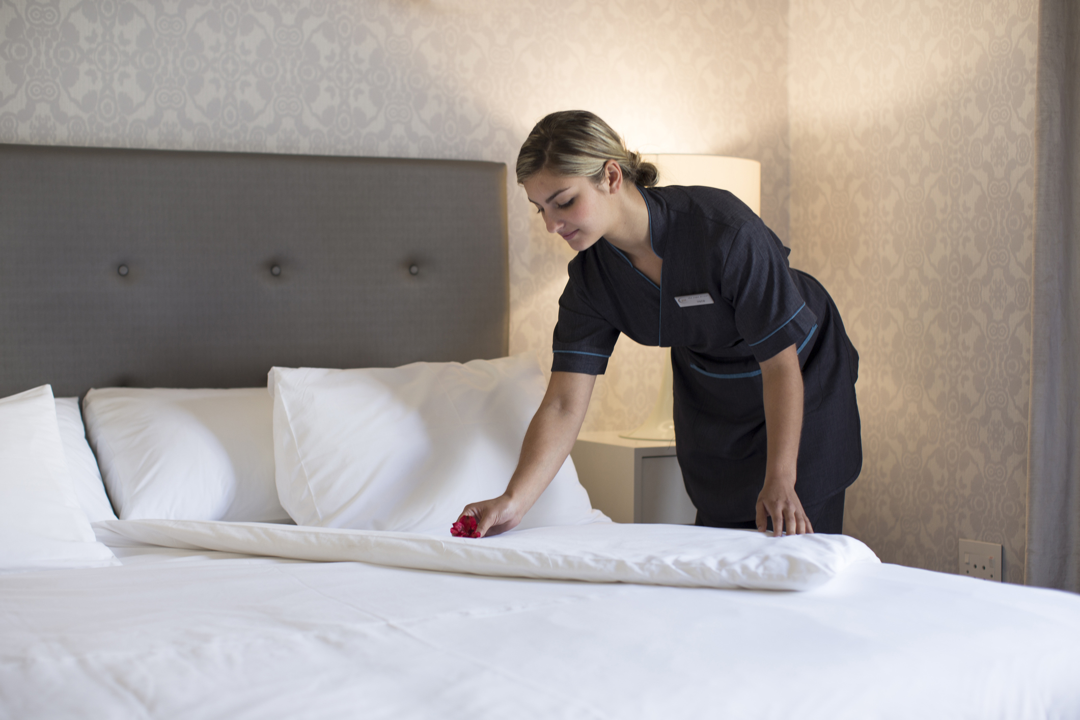 Guests reveal what they tip those who take care of their hotel rooms. Image: : Alistair Berg