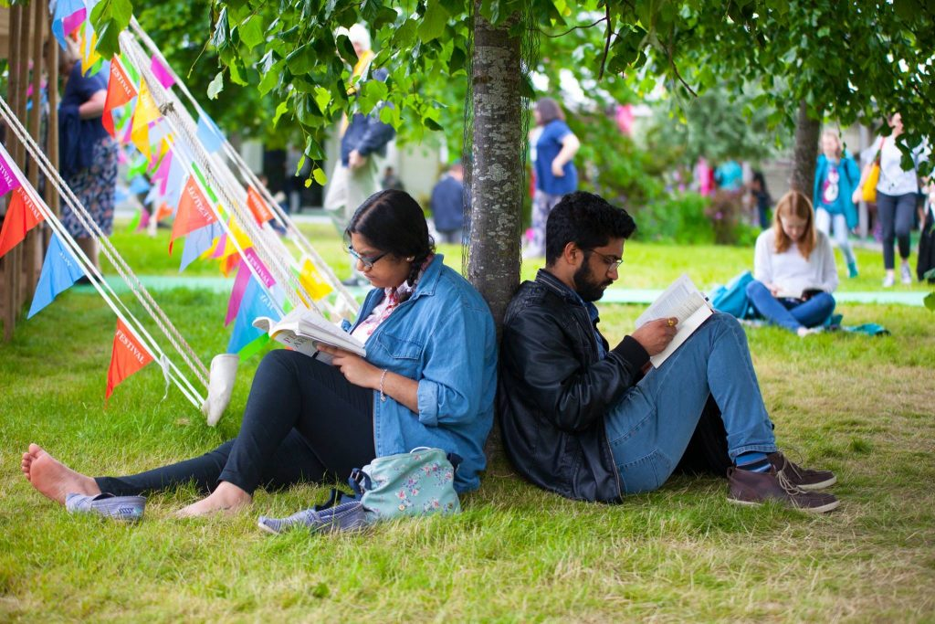 Hay Festival is going global over the next year to being people together to share stories and ideas. Image: Joseph Albert Hainey