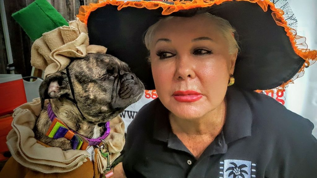 Karen Landrum is one of the organisers of the Canine Film Festival in Miami. Image: Canine Film Festival