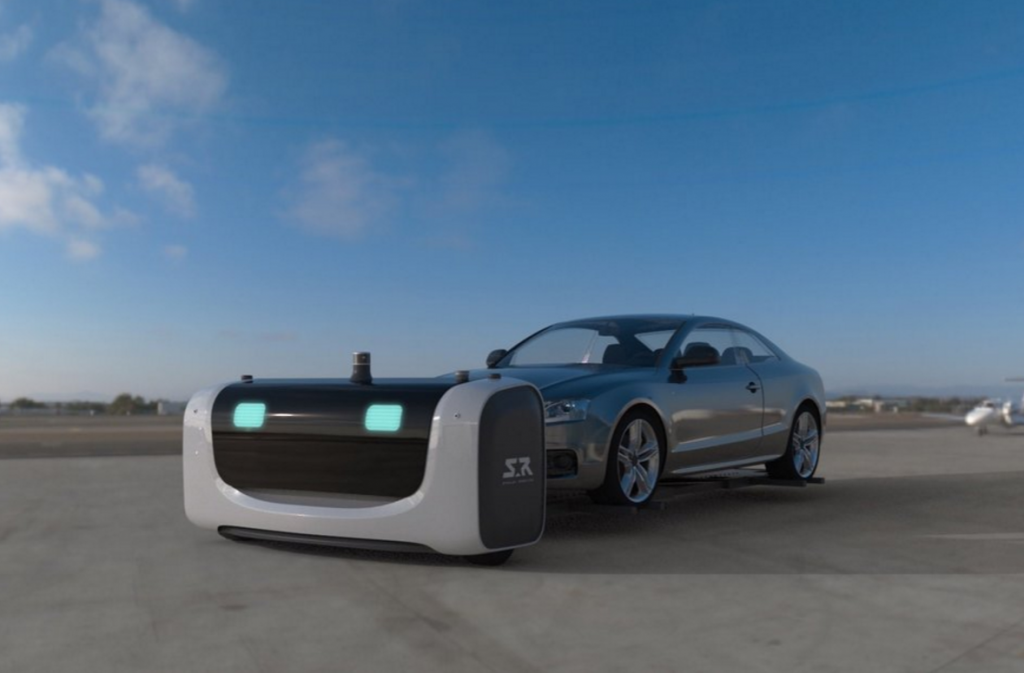 A robot will park your car at a French airport. Image: Stanley Robotics