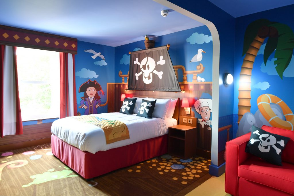 This is the pirate themed room.