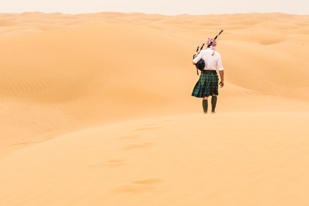 Ross in the United Arab Emirates.