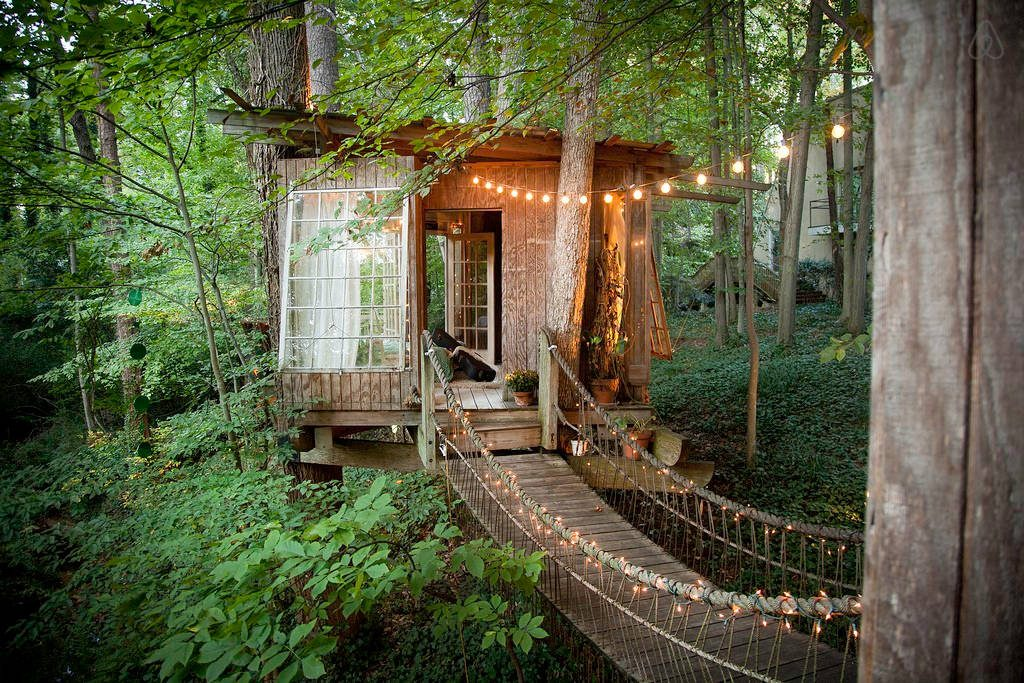 A treehouse in Atlanta is the most-desired property on Airbnb.