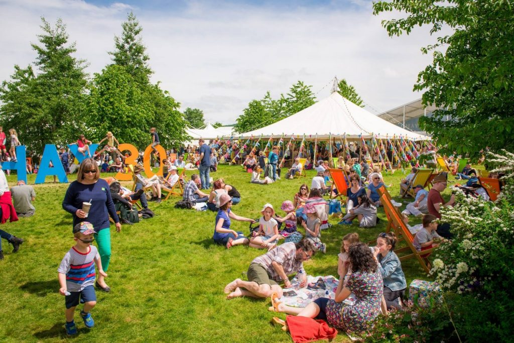 Hay Festival is going global over the next year to being people together to share stories and ideas. Image: Sam Hardwick