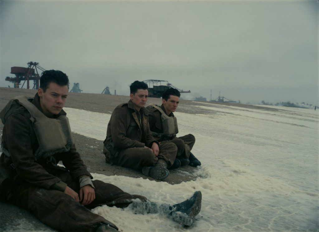 The Christopher Nolan film focuses on soldiers at Dunkirk.