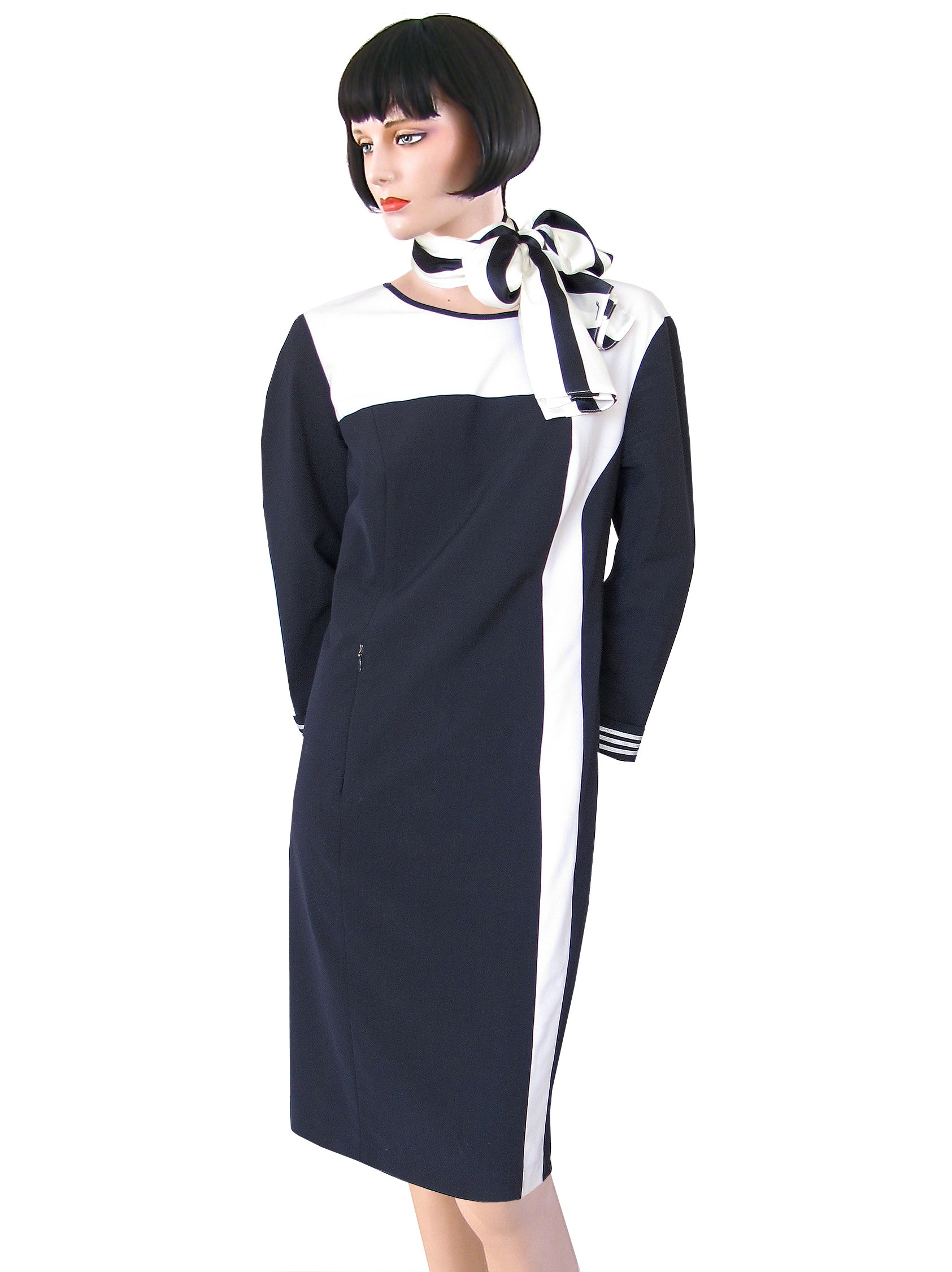 Finnair uniform dress for pursers 2011-2013. Image: Collection Cliff Muskiet