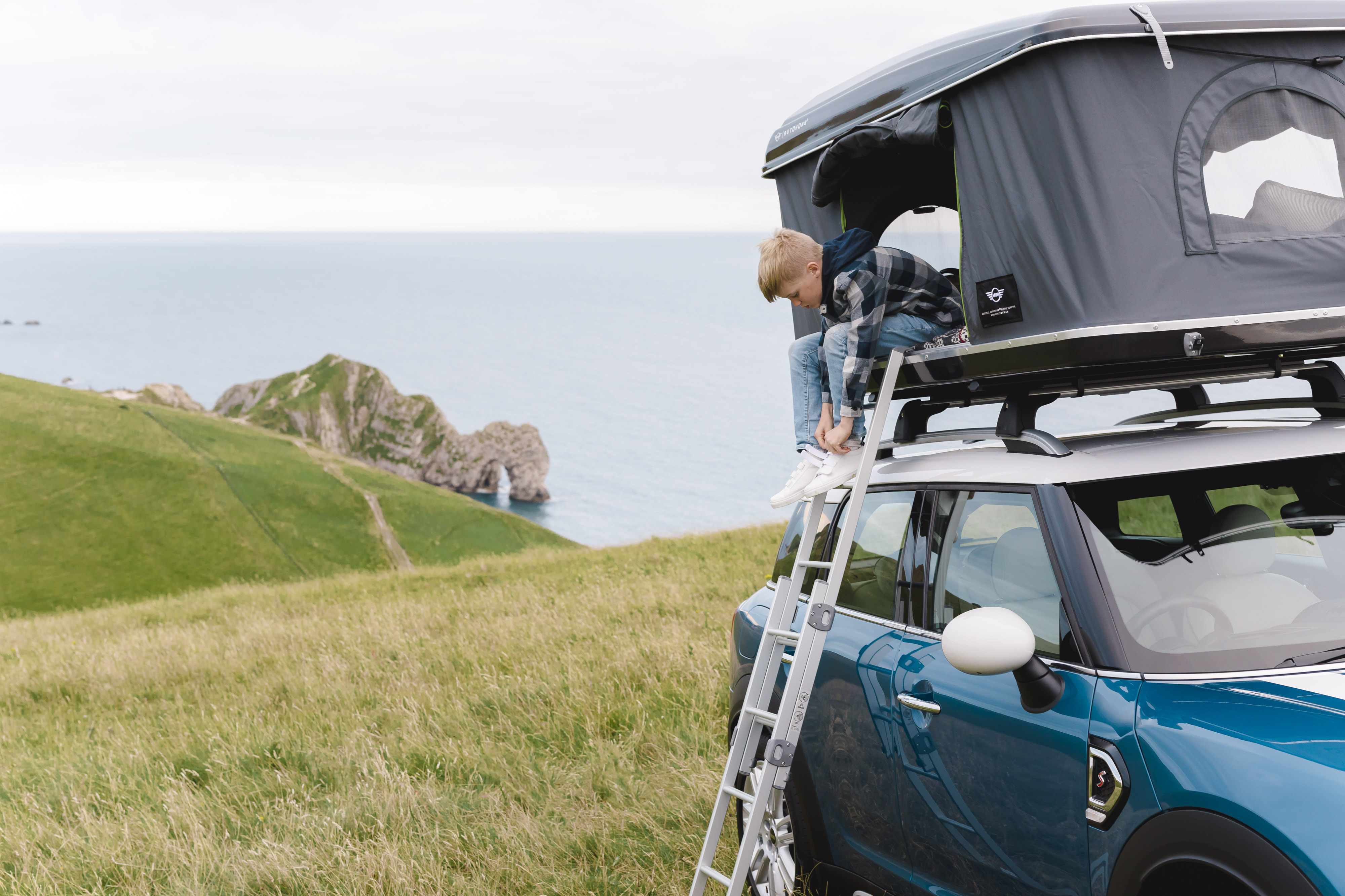 Win a stay in a car rooftop tent at incredible places of outstanding natural beauty in the UK. Image Finn Beales & Win a stay in a car rooftop tent at three incredible UK locations