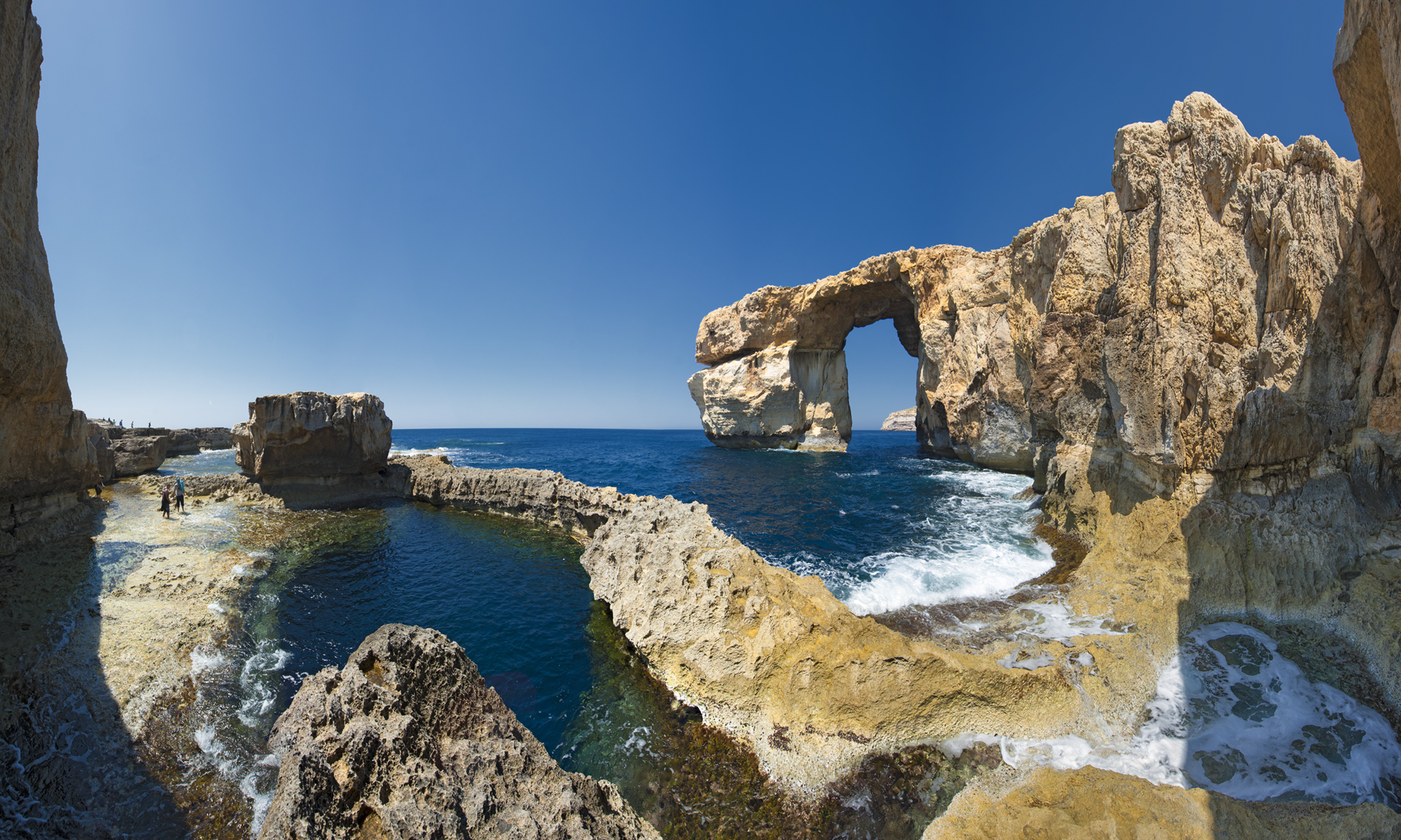 Malta's collapsed Azure Window now a top dive site