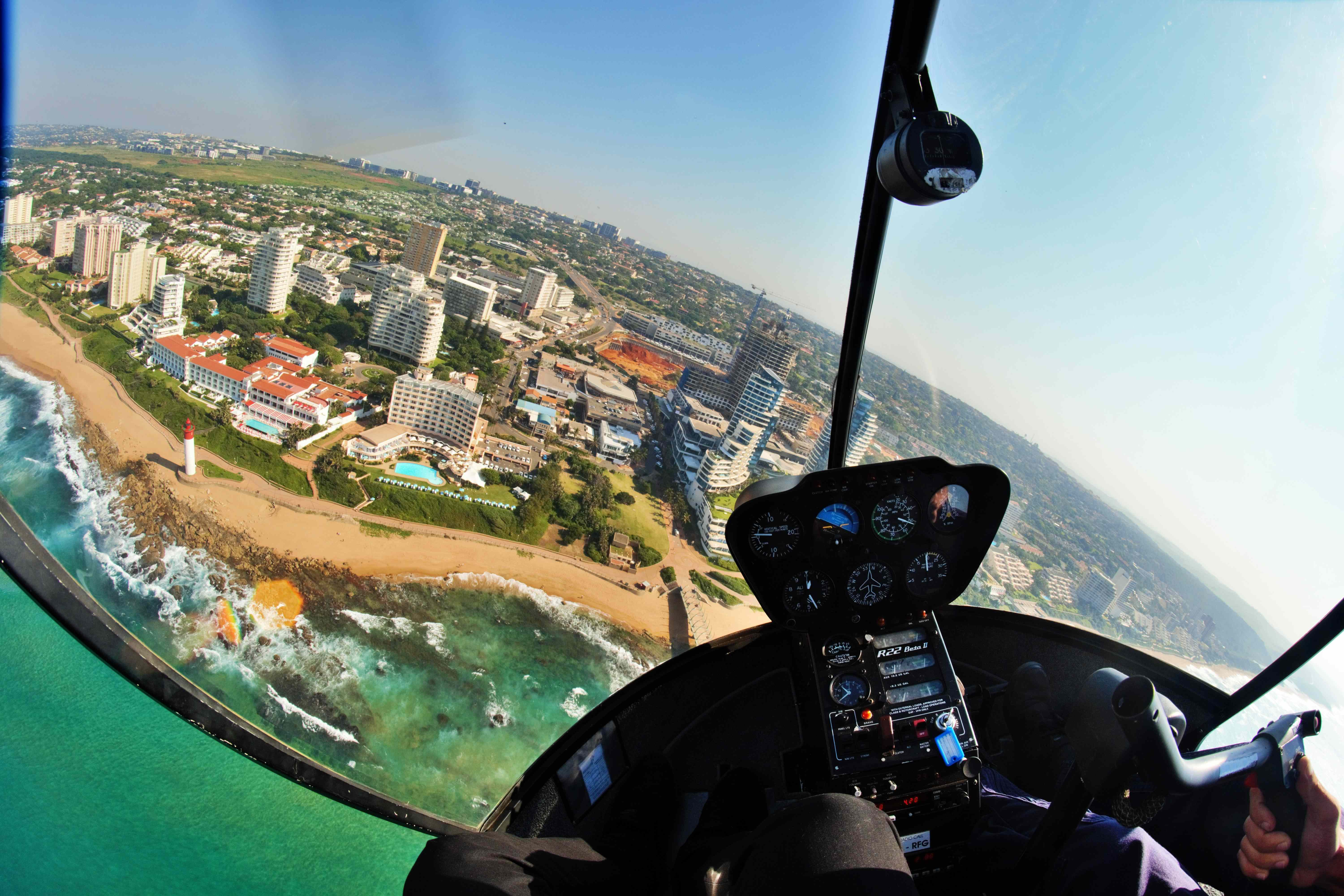 Photographer snaps Durban from above