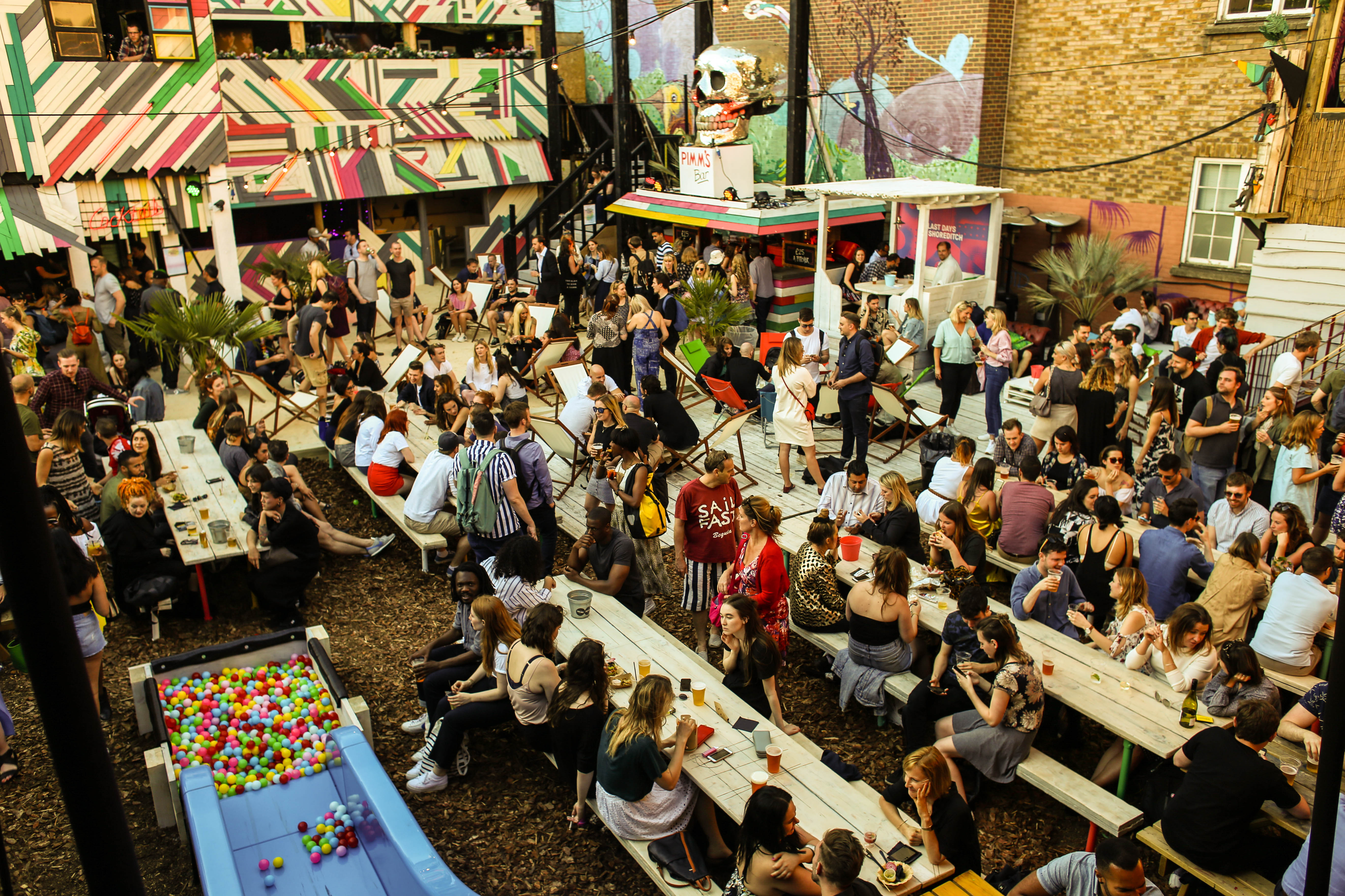 An English Oktoberfest will take place in the Last Days of Shoreditch. Image: Shoreditch Oktoberfest