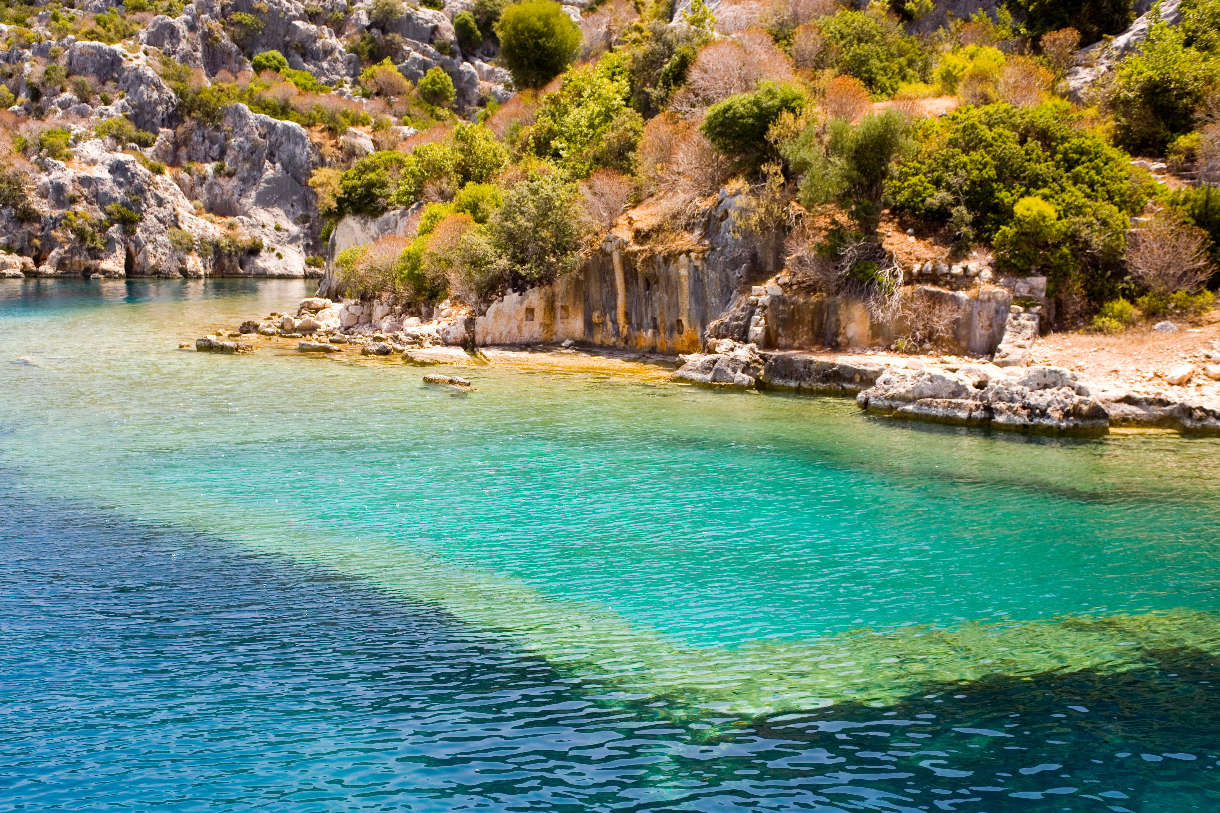 Divers may soon beging to explore the sunken city of Kekova