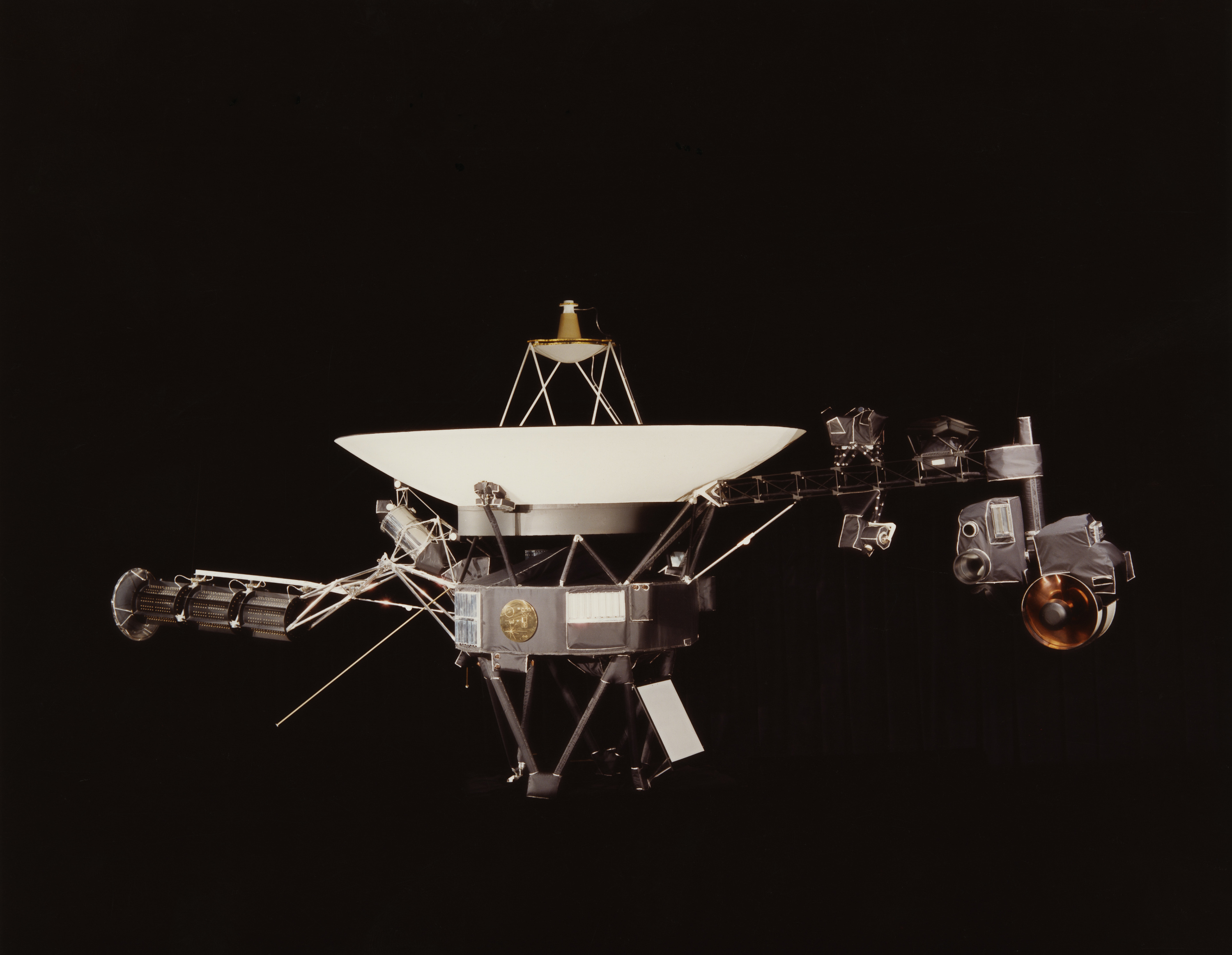 NASA's Voyager 1 is the most travelled man-made object in existence.