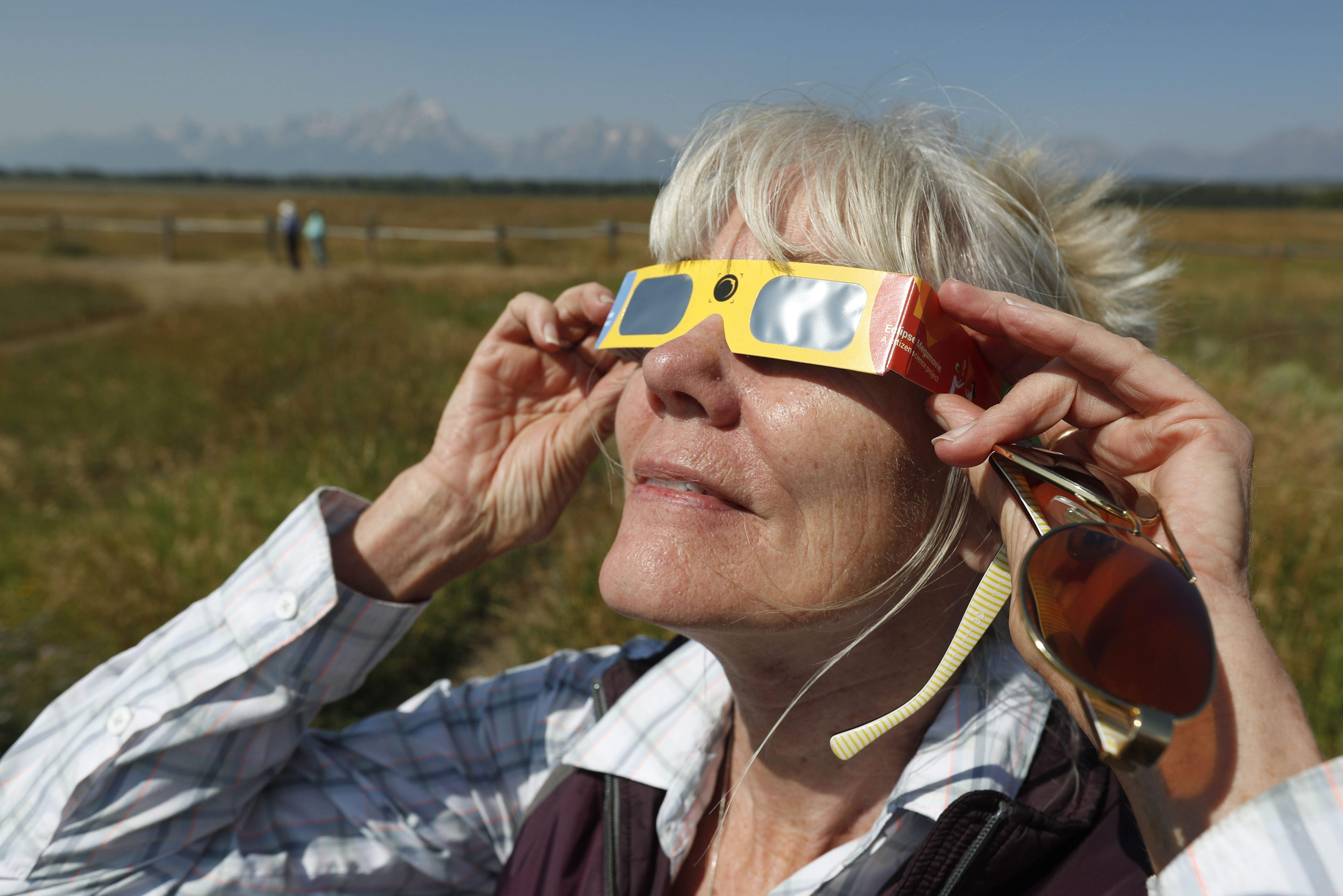 These glasses are one of the few ways to watch a solar eclipse safely.