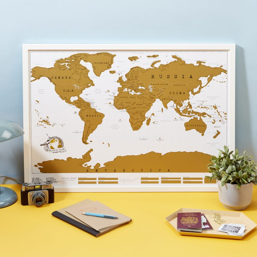 Keep Track Of Your Travels With These Wildly Popular Scratch Maps - Scratch us map