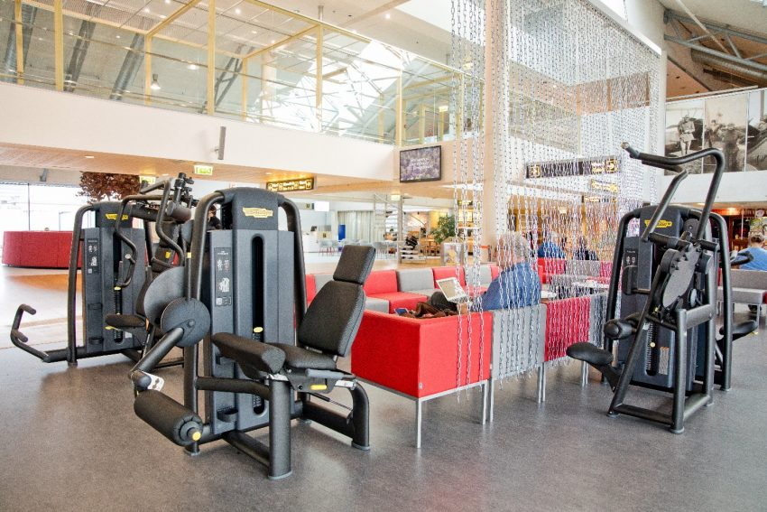 Europe S First Airport Terminal Gym Has Opened In Estonia