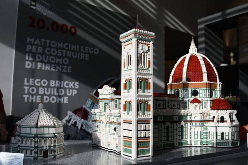 See the lego scale model of florence 39 s iconic duomo - Casa del giunco firenze ...