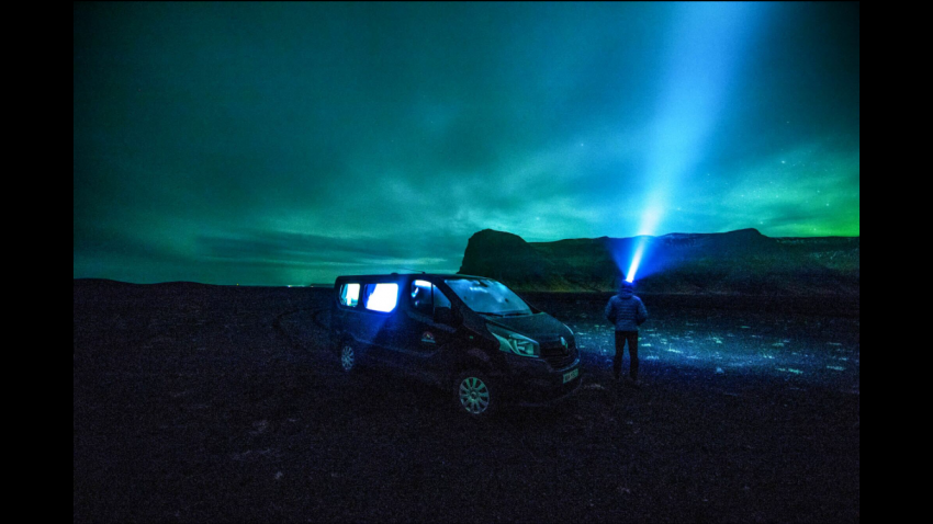 See The Northern Lights In A Campervan With A Panoromic View