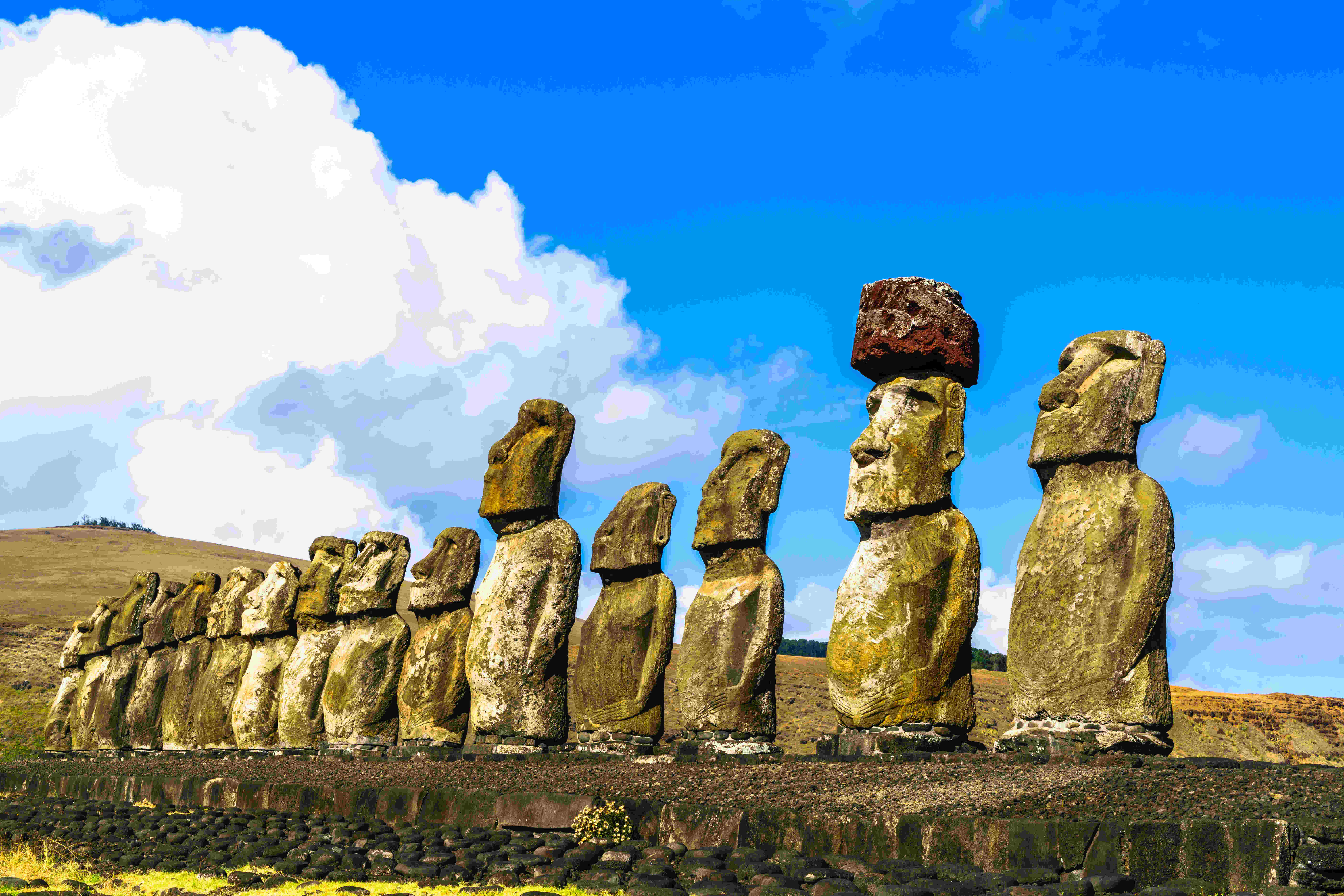 Huge conservation are to be created around Easter Island