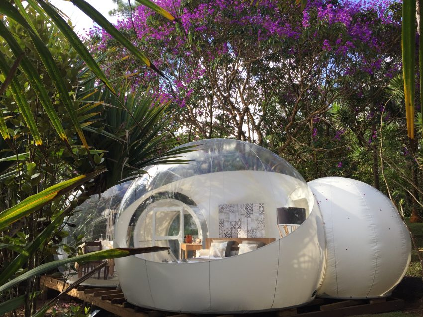 Stay At A Bubble Hotel Set On A Historic Tea Plantation In
