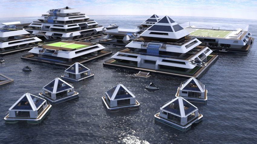 Would You Stay In A Modular Floating City Of Futuristic