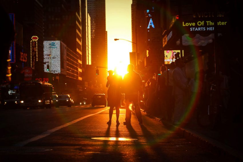 Car Rental Manhattan >> How and when to see New York's Manhattanhenge in 2018