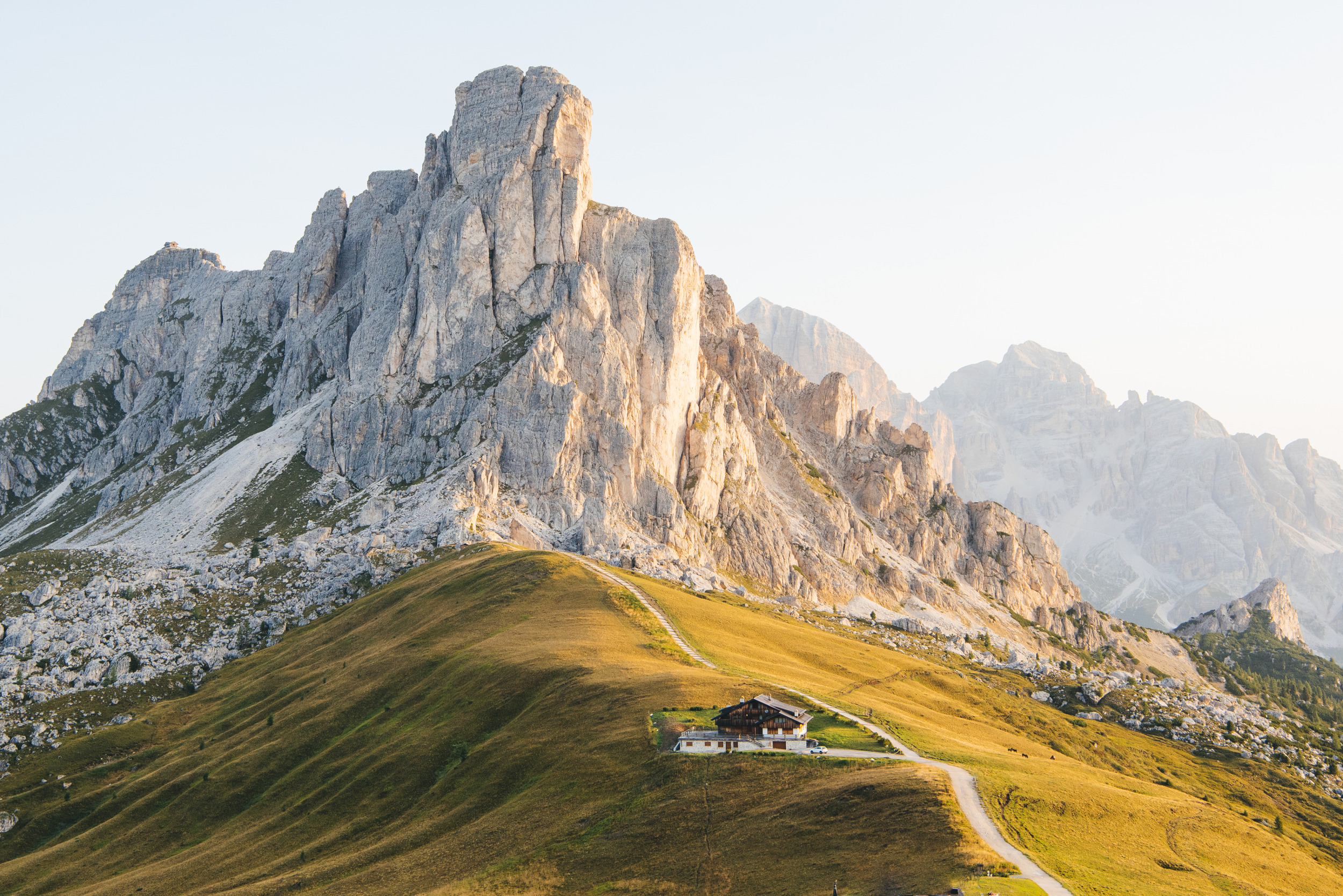 The Dolomites in Italy.