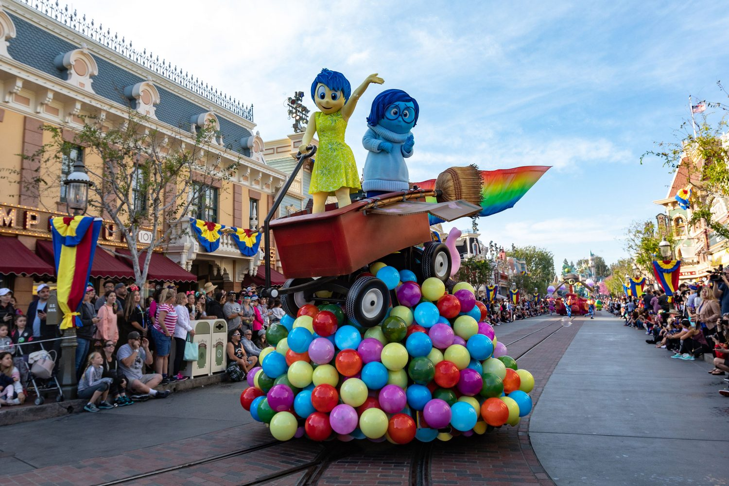 Joy and Sadness have already made an appearance at the Disney Parks.