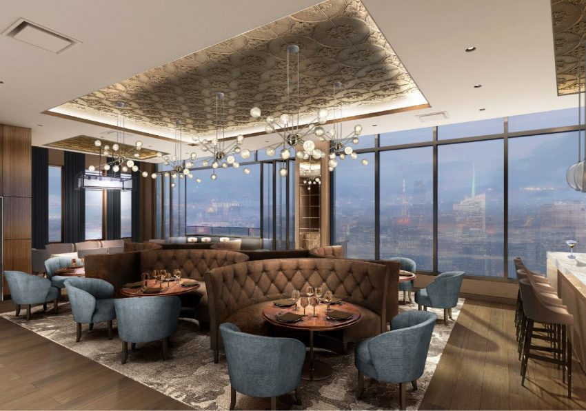 Car Rental Manhattan >> New York's tallest rooftop bar is set to open this year