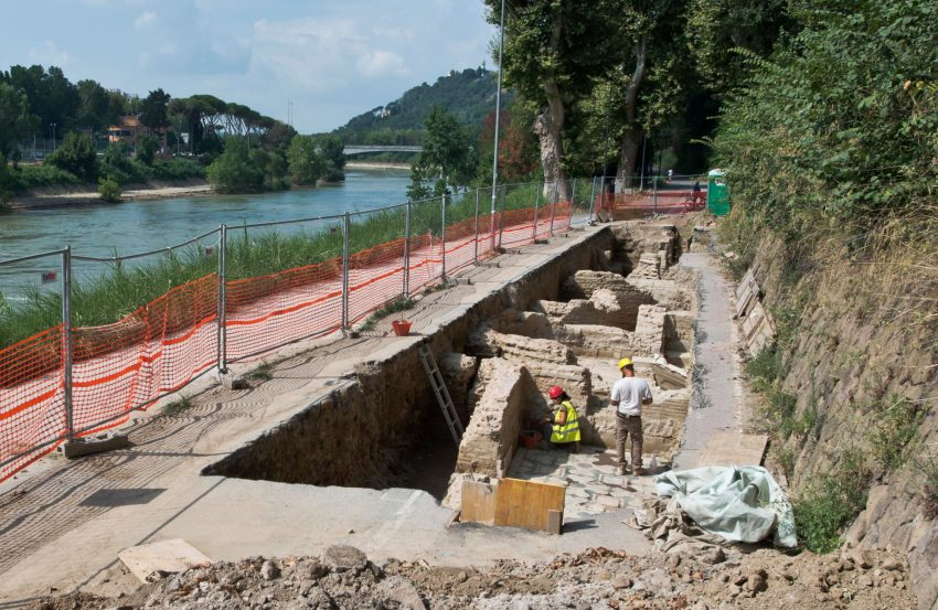 Newly Discovered Ruins Maybe Earliest Church In Rome