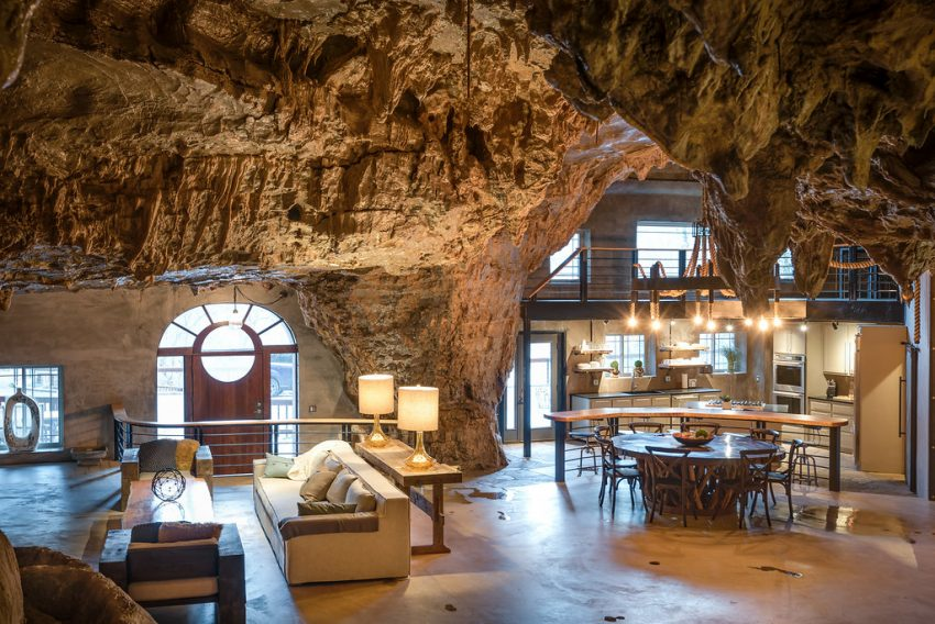 Stay at a luxury house built inside a mountain cave in the ...