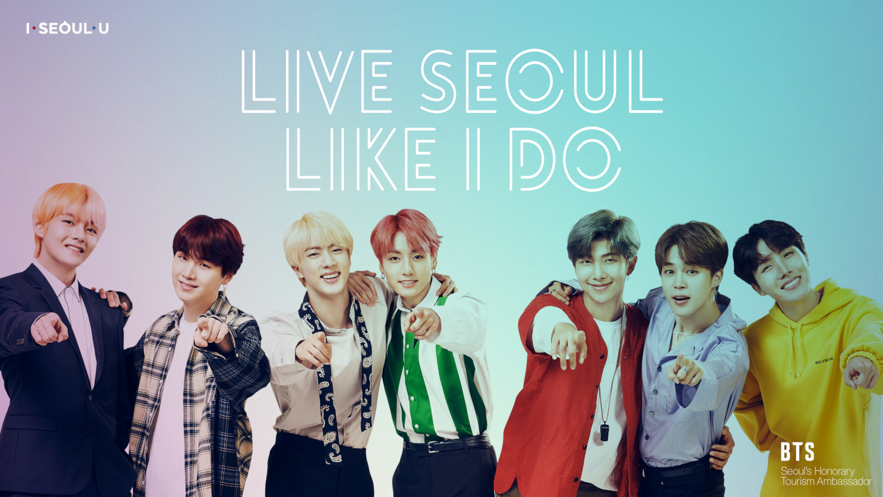BTS want you to visit and love Seoul just like they do