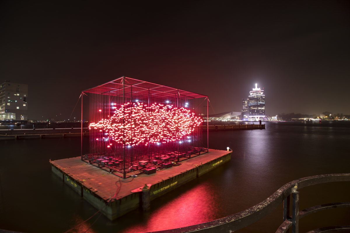 Discover an urban wonderland at this year's Amsterdam Light