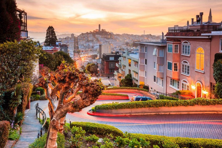San Francisco considering a toll to drive down Instagram-favourite Lombard Street