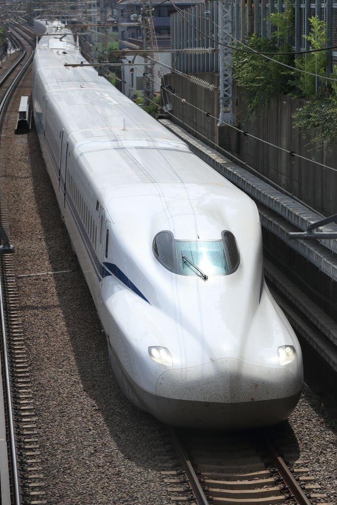 One of Japan's new bullet trains is so fast, it broke a