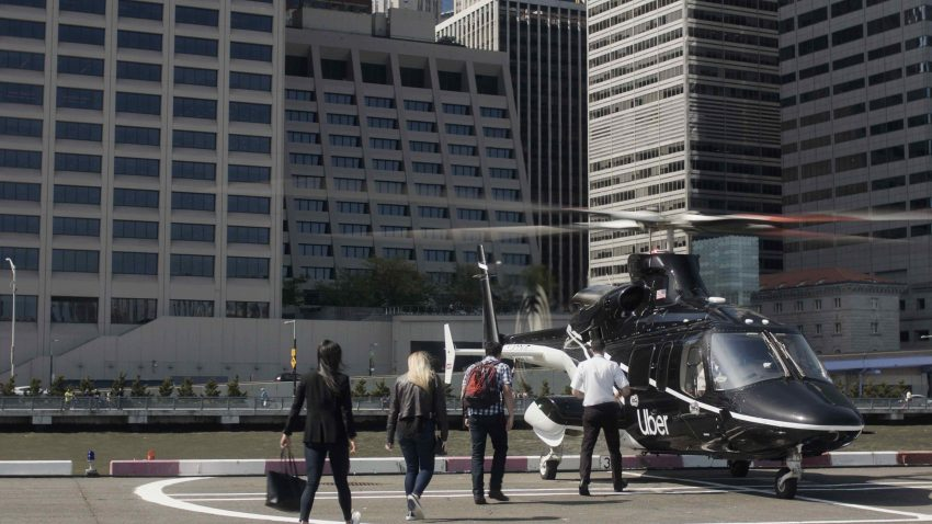 uber copter    helicopter transfer service   york city